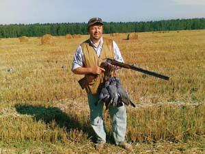 Гуси и разные способы охоты на них